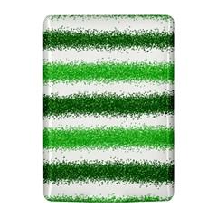 Metallic Green Glitter Stripes Kindle 4