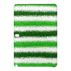 Metallic Green Glitter Stripes Samsung Galaxy Tab Pro 10.1 Hardshell Case