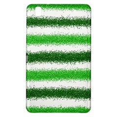 Metallic Green Glitter Stripes Samsung Galaxy Tab Pro 8.4 Hardshell Case