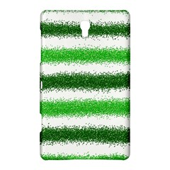 Metallic Green Glitter Stripes Samsung Galaxy Tab S (8.4 ) Hardshell Case