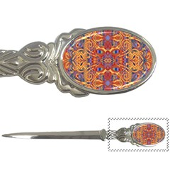 Oriental Watercolor Ornaments Kaleidoscope Mosaic Letter Openers