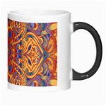 Oriental Watercolor Ornaments Kaleidoscope Mosaic Morph Mugs Right