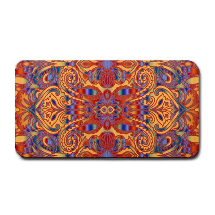 Oriental Watercolor Ornaments Kaleidoscope Mosaic Medium Bar Mats