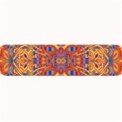 Oriental Watercolor Ornaments Kaleidoscope Mosaic Large Bar Mats
