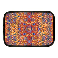 Oriental Watercolor Ornaments Kaleidoscope Mosaic Netbook Case (medium)