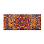 Oriental Watercolor Ornaments Kaleidoscope Mosaic Hand Towel Front