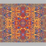 Oriental Watercolor Ornaments Kaleidoscope Mosaic Canvas 10  x 8  10  x 8  x 0.875  Stretched Canvas