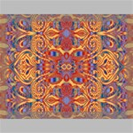 Oriental Watercolor Ornaments Kaleidoscope Mosaic Canvas 16  x 12  16  x 12  x 0.875  Stretched Canvas