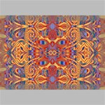 Oriental Watercolor Ornaments Kaleidoscope Mosaic Canvas 18  x 12  18  x 12  x 0.875  Stretched Canvas