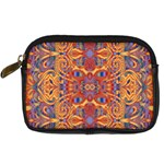 Oriental Watercolor Ornaments Kaleidoscope Mosaic Digital Camera Cases Front