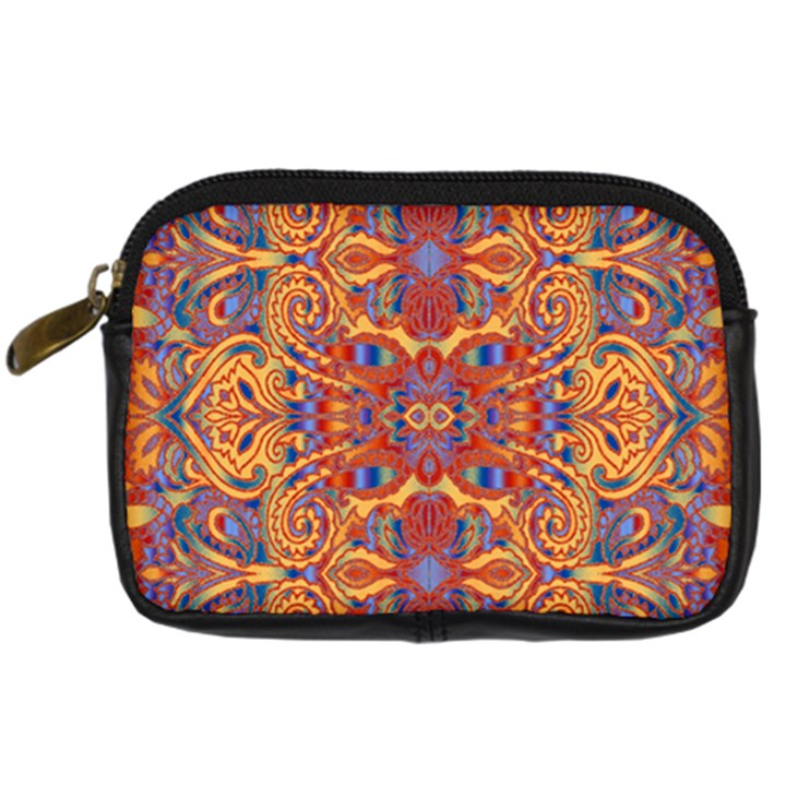 Oriental Watercolor Ornaments Kaleidoscope Mosaic Digital Camera Cases