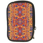 Oriental Watercolor Ornaments Kaleidoscope Mosaic Compact Camera Cases Front