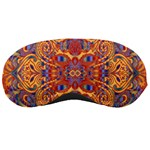 Oriental Watercolor Ornaments Kaleidoscope Mosaic Sleeping Masks Front
