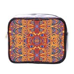 Oriental Watercolor Ornaments Kaleidoscope Mosaic Mini Toiletries Bags Front