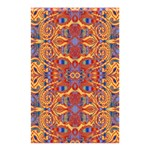 Oriental Watercolor Ornaments Kaleidoscope Mosaic Shower Curtain 48  x 72  (Small)  42.18 x64.8 Curtain