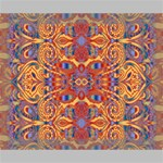 Oriental Watercolor Ornaments Kaleidoscope Mosaic Deluxe Canvas 20  x 16   20  x 16  x 1.5  Stretched Canvas