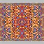Oriental Watercolor Ornaments Kaleidoscope Mosaic Deluxe Canvas 24  x 20   24  x 20  x 1.5  Stretched Canvas