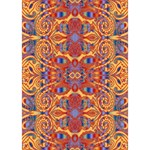 Oriental Watercolor Ornaments Kaleidoscope Mosaic THANK YOU 3D Greeting Card (7x5) Inside