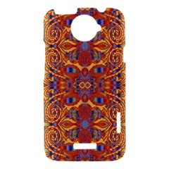 Oriental Watercolor Ornaments Kaleidoscope Mosaic HTC One X Hardshell Case