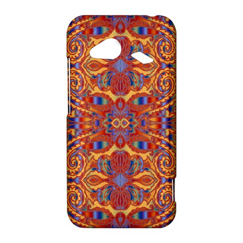 Oriental Watercolor Ornaments Kaleidoscope Mosaic HTC Droid Incredible 4G LTE Hardshell Case