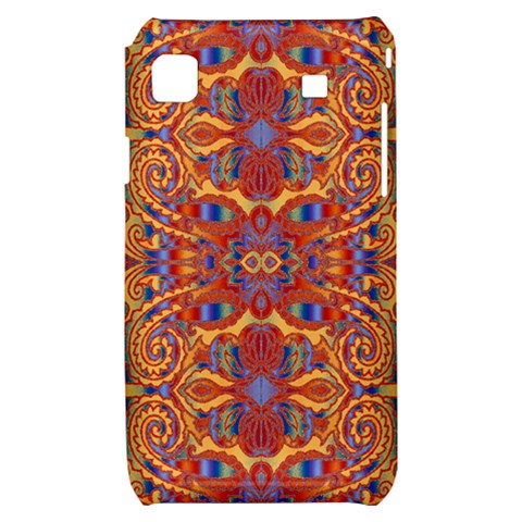 Oriental Watercolor Ornaments Kaleidoscope Mosaic Samsung Galaxy S i9000 Hardshell Case