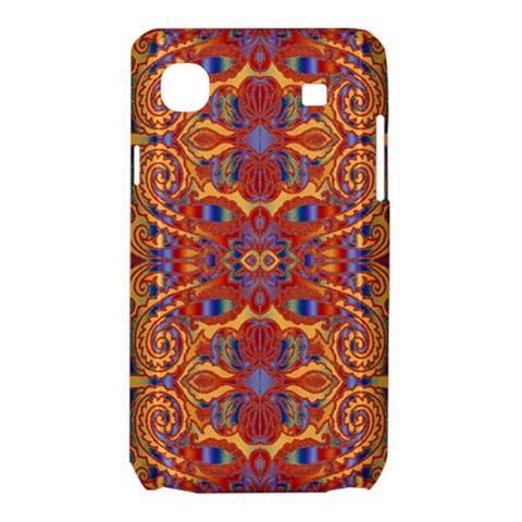 Oriental Watercolor Ornaments Kaleidoscope Mosaic Samsung Galaxy SL i9003 Hardshell Case