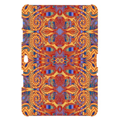 Oriental Watercolor Ornaments Kaleidoscope Mosaic Samsung Galaxy Tab 10.1  P7500 Hardshell Case