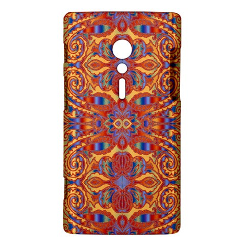 Oriental Watercolor Ornaments Kaleidoscope Mosaic Sony Xperia ion