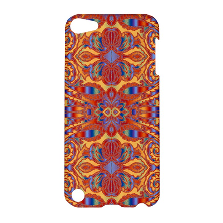 Oriental Watercolor Ornaments Kaleidoscope Mosaic Apple iPod Touch 5 Hardshell Case