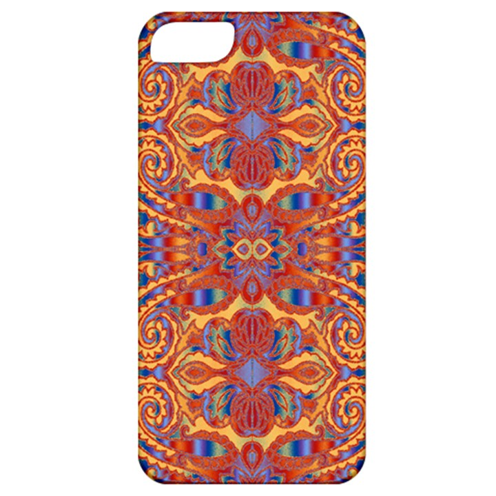 Oriental Watercolor Ornaments Kaleidoscope Mosaic Apple iPhone 5 Classic Hardshell Case