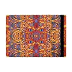 Oriental Watercolor Ornaments Kaleidoscope Mosaic Apple iPad Mini Flip Case