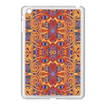 Oriental Watercolor Ornaments Kaleidoscope Mosaic Apple iPad Mini Case (White) Front