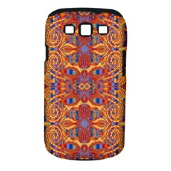 Oriental Watercolor Ornaments Kaleidoscope Mosaic Samsung Galaxy S III Classic Hardshell Case (PC+Silicone)