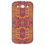 Oriental Watercolor Ornaments Kaleidoscope Mosaic Samsung Galaxy S3 S III Classic Hardshell Back Case Front