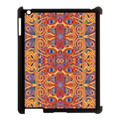 Oriental Watercolor Ornaments Kaleidoscope Mosaic Apple Ipad 3/4 Case (black)