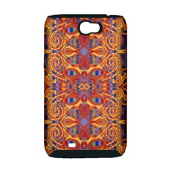 Oriental Watercolor Ornaments Kaleidoscope Mosaic Samsung Galaxy Note 2 Hardshell Case (PC+Silicone)