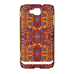Oriental Watercolor Ornaments Kaleidoscope Mosaic Samsung Ativ S i8750 Hardshell Case