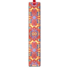 Oriental Watercolor Ornaments Kaleidoscope Mosaic Large Book Marks