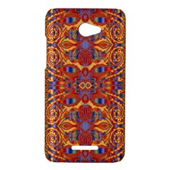 Oriental Watercolor Ornaments Kaleidoscope Mosaic HTC Butterfly X920E Hardshell Case