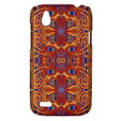 Oriental Watercolor Ornaments Kaleidoscope Mosaic HTC Desire V (T328W) Hardshell Case