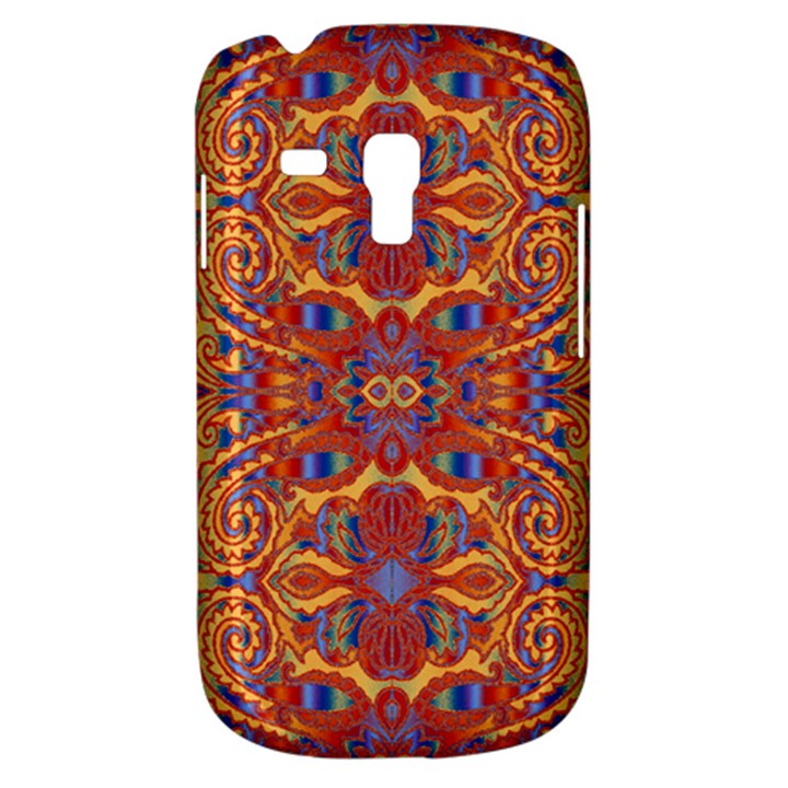 Oriental Watercolor Ornaments Kaleidoscope Mosaic Samsung Galaxy S3 MINI I8190 Hardshell Case