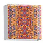 Oriental Watercolor Ornaments Kaleidoscope Mosaic 5  x 5  Acrylic Photo Blocks Front