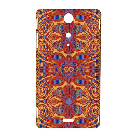 Oriental Watercolor Ornaments Kaleidoscope Mosaic Sony Xperia TX