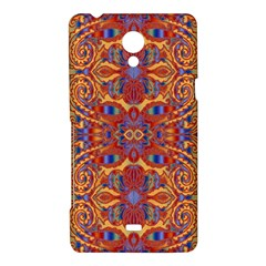 Oriental Watercolor Ornaments Kaleidoscope Mosaic Sony Xperia T