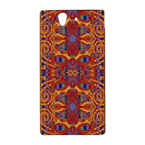 Oriental Watercolor Ornaments Kaleidoscope Mosaic Sony Xperia Z