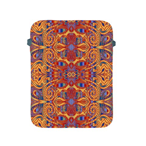 Oriental Watercolor Ornaments Kaleidoscope Mosaic Apple iPad 2/3/4 Protective Soft Cases