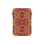 Oriental Watercolor Ornaments Kaleidoscope Mosaic Apple iPad Mini Protective Soft Cases Front