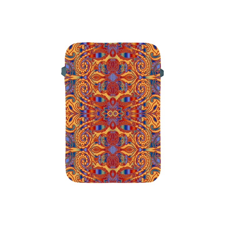 Oriental Watercolor Ornaments Kaleidoscope Mosaic Apple iPad Mini Protective Soft Cases