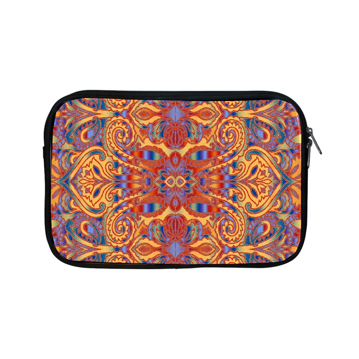 Oriental Watercolor Ornaments Kaleidoscope Mosaic Apple iPad Mini Zipper Cases