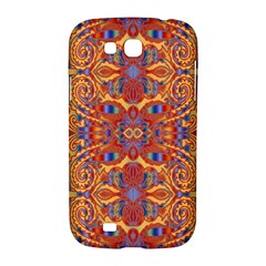 Oriental Watercolor Ornaments Kaleidoscope Mosaic Samsung Galaxy Grand GT-I9128 Hardshell Case